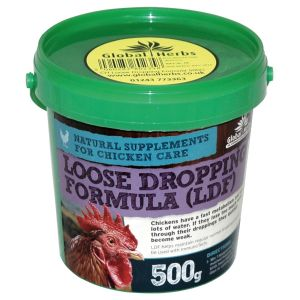 Global Herbs Poultry Loose Dropping Formula - 500gm