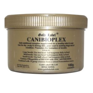 Gold Label Canibioplex - 100gm