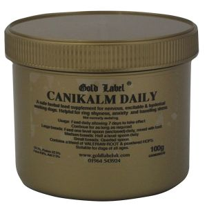 Gold Label CaniKalm Daily - 100gm