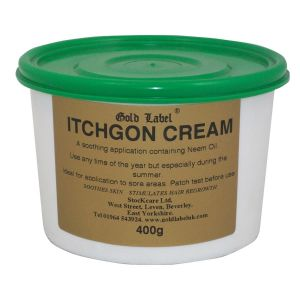 Gold Label Itchgon Cream - 400gm
