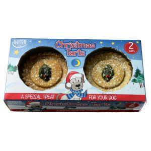 Hatchwells Dog Christmas Tart x 2 Pack