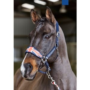 John Whitaker Union Jack Fleece Headcollar