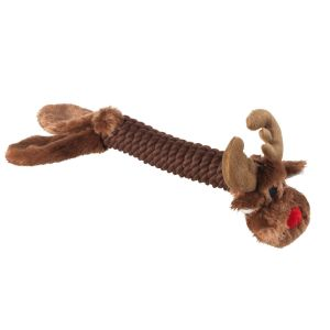 House of Paws Christmas Rope Toy - Reindeer