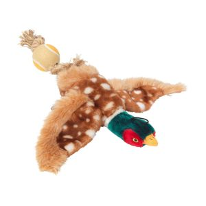 House of Paws Toy with Tennis Ball Tail - Pheasant