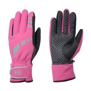 Hy Equestrian Reflective Waterproof Multipurpose Gloves