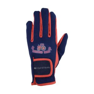 Hy Equestrian Tractors Rock Gloves - Childs