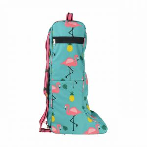 Hy Flamingo Long Boot Bag