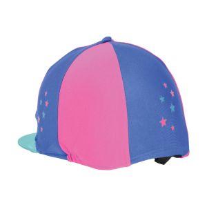 Hy Zeddy Three Tone Lycra Hat Silk