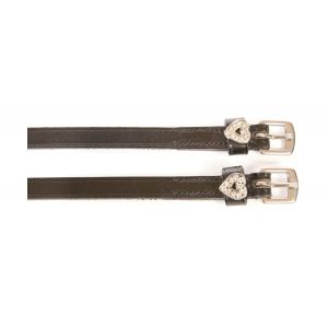 HyCLASS Diamante Spur Straps - Heart