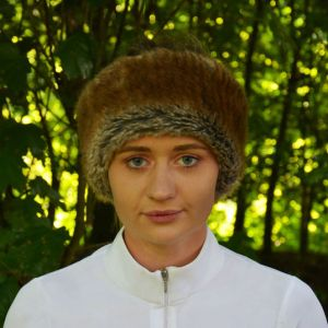 HyFASHION Idaho Fleece Lined Faux Fur Headband