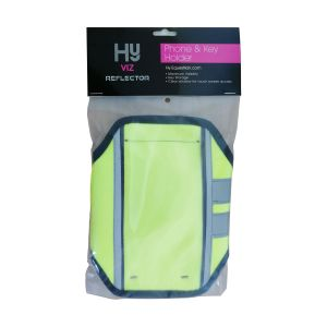HyVIZ Reflector Phone & Key Holder - Yellow