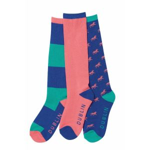 Dublin Block Stripe Sock Pack