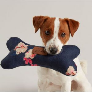 Joules Floral Bone Toy - Navy