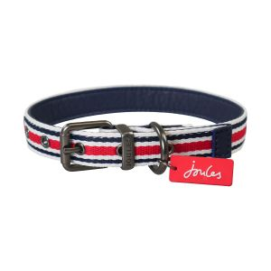 Joules Striped Dog Collar