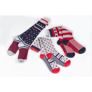 Just Togs Sloan Socks - Pack of 3