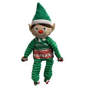 KONG Floppy Knots Holiday Elf - Medium