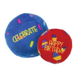 Kong Occasions Birthday Balls - 2pk - Medium