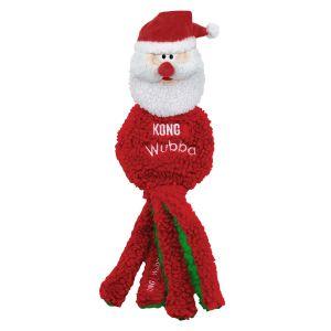 Kong Wubba Flatz Holiday Santa - Large