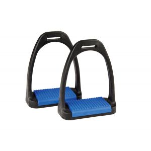 Korsteel Polymer Stirrup Irons with Coloured Treads