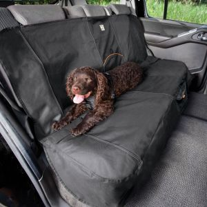 Kurgo Wander Bench Seat Cover - Charcoal