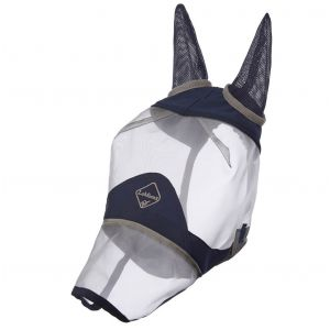 LeMieux Armour Shield Fly Protector Full Mask - Navy/Grey