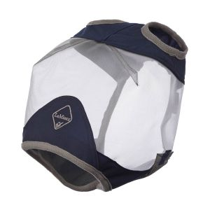 LeMieux Armour Shield Fly Protector Standard Mask - Navy/Grey