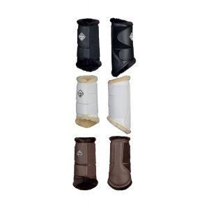 LeMieux Fleece Brushing Boots