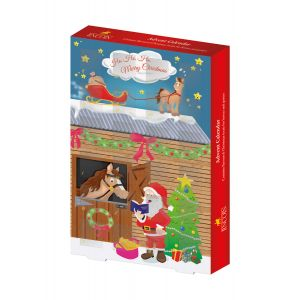 Lincoln Father Christmas Advent Calendar - For Horse