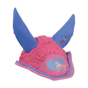 Little Rider Little Show Pony Fly Veil - Pink - Pony/Cob