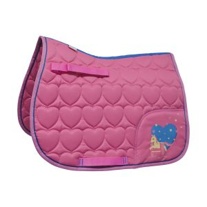 Little Rider Little Show Pony Saddle Pad - Pink - Pony/Cob