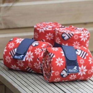Masta Novelty Winter Bandages Red - 2 Pack