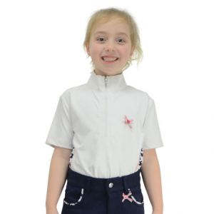 Molly Moo Show Shirt by Little Rider - White - 5-6yrs