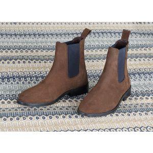 Moretta Antonia Suede Chelsea Boots