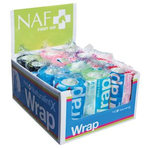 NAF NaturalintX Wrap Assorted - 12 Pack