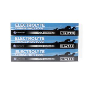 Nettex Electrolyte Syringe Paste Boost 3 x 30ml