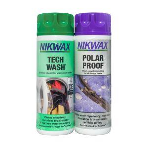Nikwax Tech Wash & Polar Proof - Twin Pack - 2 x 300ml