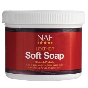NAF Leather Soft Soap 450gm