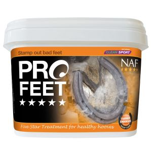 NAF Five Star ProFeet Powder