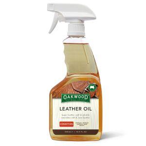 Oakwood Leather Oil Spray 500ml