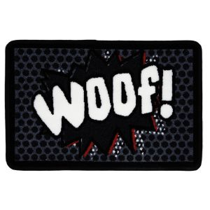 Pet Rebellion Absorbent Food Mat Dinner Mate - Woof