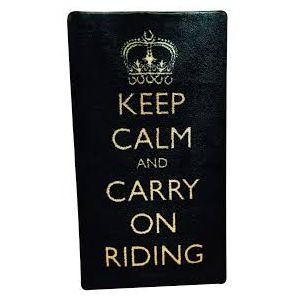 Pet Rebellion Equine Rug - Keep Calm Carry on Riding