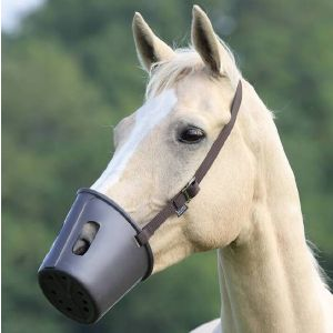 Shires Plastic Muzzle Brown