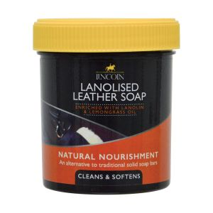Lincoln Lanolised Leather Soap 400gm