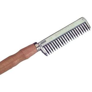 Roma Wood Handle Pulling Comb