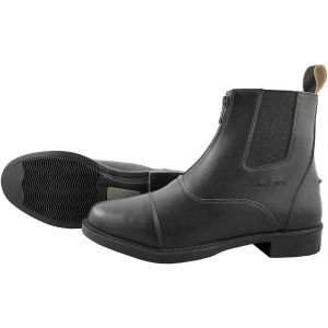 Mark Todd Synthetic Front Zip Jodhpur Boots