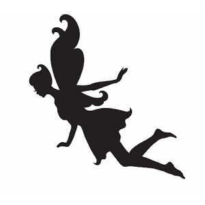 Glamourati Stencil Design Small Fairy - Pack of 4