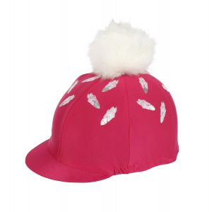 Shires Feather Print Hat Cover