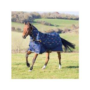 Shires Highlander Original 200 Combo Turnout - Horse Print