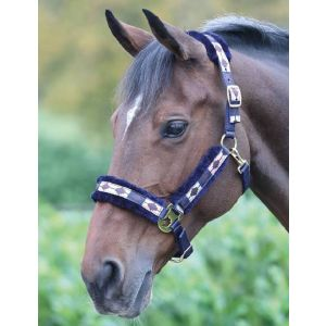 Shires Polo Fleece Lined Headcollar