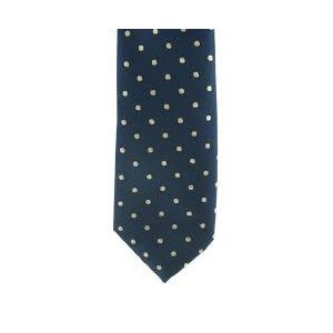 Showquest Lurex Medium Spot Tie